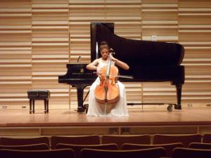 Cellist, Christina Hart