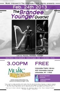Harpist, Brandee Younger in Concert